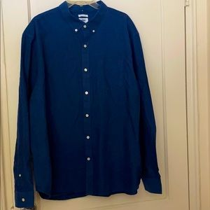 NWT Old navy slim fit button down  size: 3XL